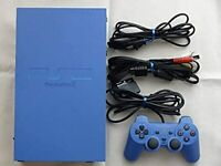Play Station 2 Toys Blue Limited Tested PS2 SONY From Japan