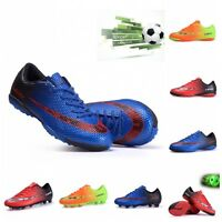 Children Men's TF AG Turf Cleats Soccer Football Outdoor Trainers Sneakers Shoes