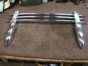 NOS Bumper grille Guard 35 36 37 38 39 40 41 46 47 48 chevy olds pontiac ford