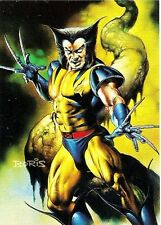 WOLVERINE / VENOM  1996  Marvel Masterpieces card  DOUBLE IMPACT # 6 of 6