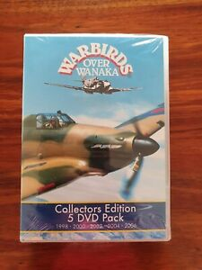 Warbirds Over Wanaka - Collectors Edition 5 DVD Set 1998-2006 - NEW