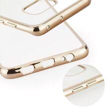 ^ Silikonhülle Transparent Handytasche BUMPER CLEAR Etui HTC One A9s Gold