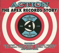 ACTION THE APEX RECORDS STORY 1960 - 1962 - 2 CD BOX SET - GENE PITNEY & MORE