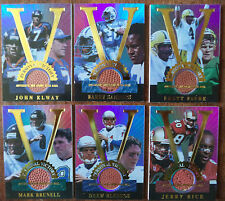 1998 Collector's Edge Advantage Personal Victory set Rice Elway Favre Football