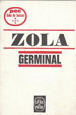 PEC - Zola - GERMINAL - Fiche de lecture