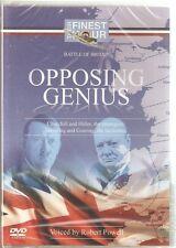OPPOSING GENIUS DVD CHURCHILL, HITLER, DOWDING & GOERING - BATTLE OF BRITAIN