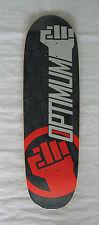 "Bbb 'Optimum Power' Graphic Big Boy Board Concave Skateboard Deck 8.5"" Usa Made"