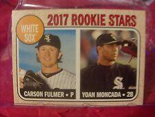 2017 Topps Heritage Baseball Card #117 White Sox Rookie Stars  (18783)