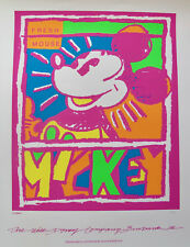 Walt Disney Mickey Mouse Limited Edition Serigraph Art Fresh Mouse