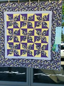 """53x53"""" Lap size quilt """"Aged With Beauty"""""""