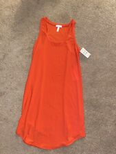 Slip On Women Nordstrom Pink/orange Tank Dress
