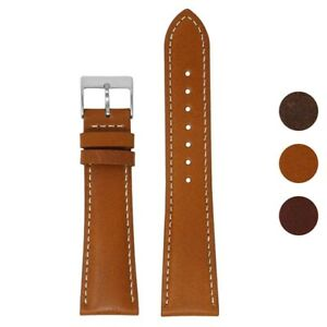 DASSARI Classic Vintage Leather Watch Band Strap