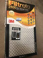 Filtrete Micro Allergen Defense Filter, Mpr 2400 -14 x 24 x 1-Inches, 6 Pack
