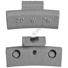 20g x 100 Schlaggewichte Alufelgen Auswuchtgewichte Wuchtgewichte Gewichte Felge