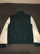 INC Varsity Teal Jacket Large L