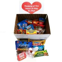 Care Package Get Well Soon: Feel Better Care Package with Snacks for Her or Him