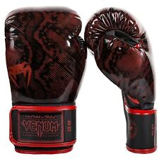 Venum Fusion Boxing Gloves Red MMA Sparring Muay Thai Gloves 12oz