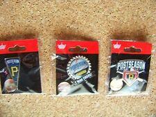3 - Pittsburgh Pirates 2014 postseason lapel pins MLB pin post season