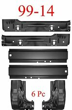 99 15 6Pc Ford Super Duty Rocker Panel, Inner & Cab Kit, 2 Door Regular Cab