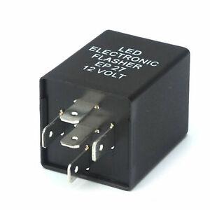 5-Pin EP27 FL27 LED Flasher Relay Decoder 12V Fix Turn Signal Hyper Flash issue
