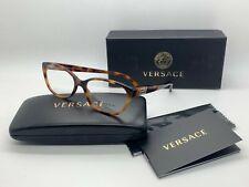 NEW VERSACE Eyeglasses OVE3189 5061 HAVANA 54-15-140MM /NIB ITALY