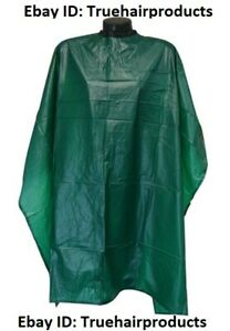 "Hairart Shampoo/Cutting Cape (Size: 48"" X 54"") Color: Green NIP!"