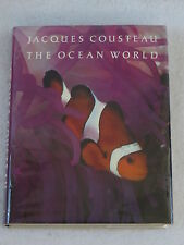 Jacques Cousteau THE OCEAN WORLD Illustrated Harry N. Abrams New York c.1979