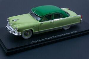 Esval Models Ltd Ed 1953 Kaiser Frazer Manhattan 2 dr Sedan 1/43 Resin