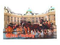 Viena Hofburg 3D Madera Recuerdo Deluxe Imán Austria Nuevo