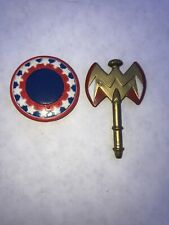 Wonder Woman DC Direct Action Figure Shield And Axe 1999