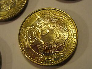 2016 COLOMBIA 500 PESOS FREE SHIPPING AU Bi-Metal Coin Bi-Metal Bin #1