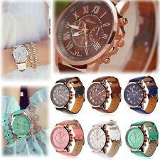 Damen Armbanduhr Edelstahl Analog Quarzuhr Damenuhr Uhr Wrist Watch Gift