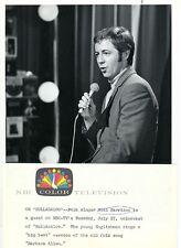 NOEL HARRISON SINGS ON STAGE HULLABALOO ORIGINAL 1965 NBC TV PHOTO
