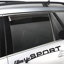 Climair Windabweiser schwarz hinten Audi A6 Limousine 4 Türer ab 2011