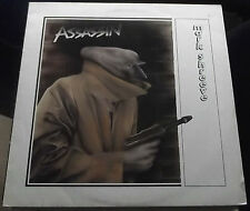 MARK SHREEVE ASSASSIN 1983 UNITON U 020 EXCELLENT+ ORIGINAL NORWEGIAN PRESSING