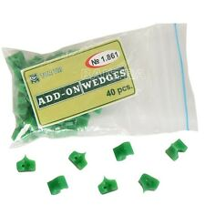 UK 40Pcs TOR VM № 1.861 Add On Wedges Silicone Rubber Green Color