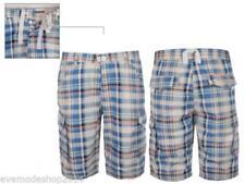 Karierte Herren-Shorts & -Bermudas im Cargo-Hosengröße 36