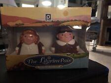 2004 Publix® The Pilgrim Pair Salt & Pepper Shakers Thanksgiving 74460 Limited