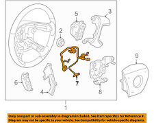 GM OEM Steering Wheel-Harness 25776048