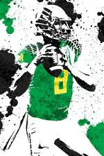Marcus Mariota Oregon Ducks Art Wall Indoor Room Outdoor Poster - POSTER 24x36