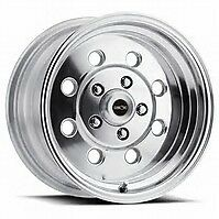 """15X8 VISION SPORT LITE PRO DRAG POLISHED RACING WHEEL 5X4.75 4.5"""" BS 1pc NO WELD"""