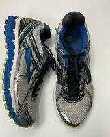 Men's BROOKS Adrenaline GTS 15 sz 11 Gray Blue Running Shoes