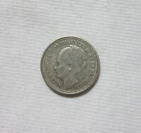 NETHERLANDS. SILVER 10 CENTS, 1928.