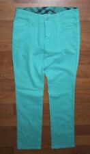 Burberry London Femmes Vert Pantalon Taille 40