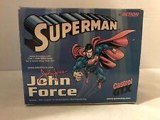 John Force 1999 NHRA Superman 1/4 Scale Helmet Action