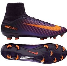 Nike Mercurial Veloce III DF FG Cleats Purple Dynasty/Bright C 831961-585 Sz 12