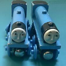 Vintage Thomas Tank Engine Wooden Railway Train Gordon Big Express Engine Blue