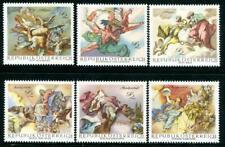 Austria Stamps 1968 SC#824-829, Baroque Frescous, MNH VF Free shipping