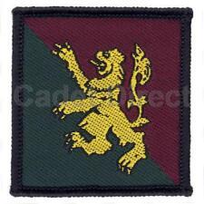 Rank Slide APOR08 S Genuine UK Military Infantry Training Centre Scottish Div
