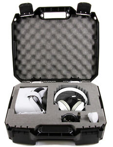 Travel Case for Oculus Go Headset , Remote, Charger and More - VR Case Only